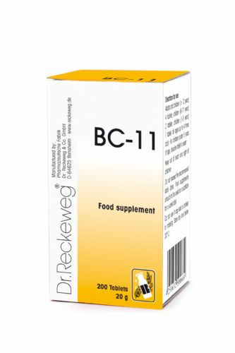 Schuessler BC11 combination cell salt - tissue salt